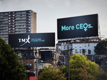 TMX Group: The Future is Yours to See [print] Outdoor Advert by The Garden