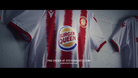 Burger King: Burger Queen x Stevenage FC Film by DAVID Madrid