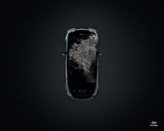 Hyundai: Crash, 1 Print Ad by Punto Ogilvy & Mather Montevideo