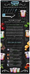 Innocent: Tweet and Eat Digital Advert by Holler Digital