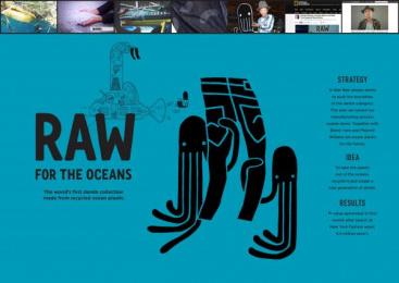 G-Star Raw: RAW FOR THE OCEANS Case study by FHV BBDO Amsterdam, G-STAR RAW Amsterdam