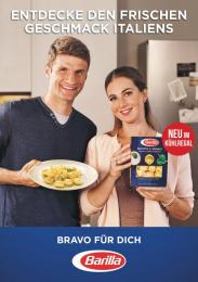 Barilla: Bravo für dich [vertical] Print Ad by J. Walter Thompson Frankfurt, Rabbicorn