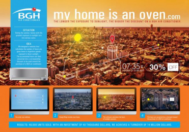 Bgh: MY HOME IS AN OVEN Case study by Del Campo Saatchi & Saatchi Buenos Aires