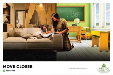 Prestige Jindal City: Move Closer - Education Print Ad by Watercrab Bangalore