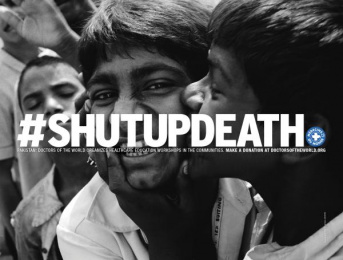 Doctors Of The World: Shut Up Death, 4 Print Ad by DDB Paris, Frenzy