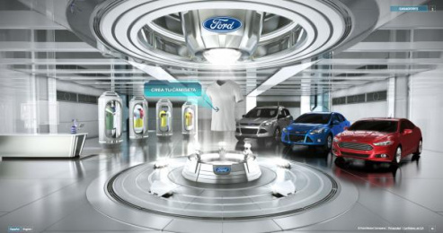 Ford: Camisetron [image] Digital Advert by Zubi Advertising