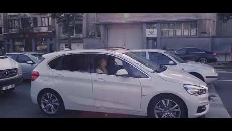 BMW: The moving billboard Outdoor Advert by Air Brussels, Rapid Media