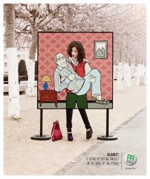 Mutualite chretienne: Carry Print Ad by Euro Rscg Brussels