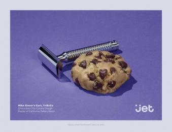 Jet.com: Razor Cookie Print Ad by Pereira & O'Dell New York