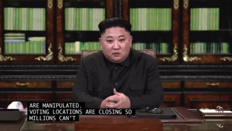 RepresentUS: Kim Jong-un Film by Mischief At No Fixed Address