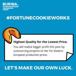 BURIBA. Agency: BURIBA. Agency Direct marketing by BURIBA.