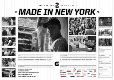 Gatorade: MADE IN NY Case study by TBWA\Chiat\Day USA