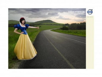 Volvo Xc90: Snow White Print Ad by Euro RSCG Johannesburg