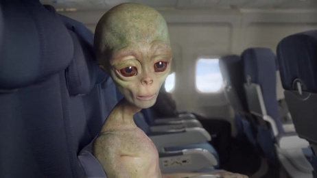 Amtrak: Alien Film by FCB New York