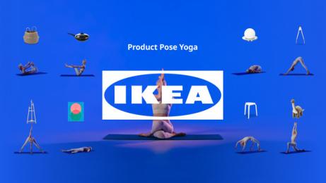 IKEA: IKEA Product Pose Yoga Print Ad by CEE Productions, CHE Proximity Australia