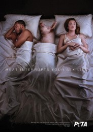 People For The Ethical Treatment Of Animals (PETA): Pig Print Ad by Y&R New York