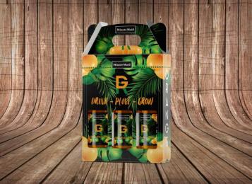 Minute Maid: GR Bottle, 1 Design & Branding by Miami Ad School Miami