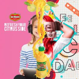 Del Monte: Citrus Side, 3 Print Ad by CM America