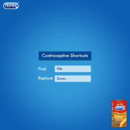Durex: Find and Replace Print Ad by Pipe bomb Advertising, Bengaluru, India