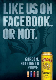 Gordon Finest Beers: Facebook Print Ad by 10 Advertising, Touche, Yves Van Houdt