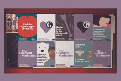 The Guardian: Playing Cupid For The Ideologically Suited, 5 Print Ad by Oliver Group UK