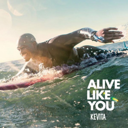 KeVita: Alive Like You, 1 Print Ad by The Integer Group