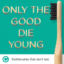 Goodwell Co.: Toothbrushes That Don't Last, 10 Print Ad by Undnyable