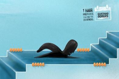 Gustavo Borges: Prepares - Swimming Print Ad by Heads Propaganda