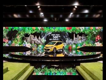 Opel: Opel Paris Motor Show 2016 [image] 3 Ambient Advert by VITAMIN E - Gesellschaft für Kommunikation Hamburg