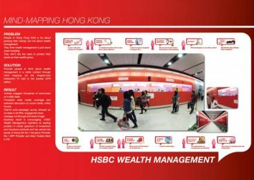 HSBC Bank: MINDMAPPING HONG KONG Promo / PR Ad by Bates CHI & Partners Hong Kong