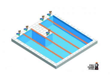 Gatorade: Swimming Print Ad by Zink Project