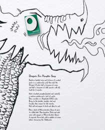 Oxo: Dragon's fire pumpkin soup Print Ad by J. Walter Thompson London, RM2