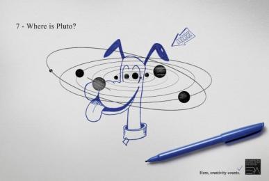 Panamericana - Art And Design School: PLUTO Print Ad by ALMAP BBDO Brazil