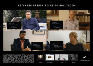Alliance Française de Singapour: Pitching French Films To Hollywood [image] Film by Joinery, Ogilvy & Mather Singapore