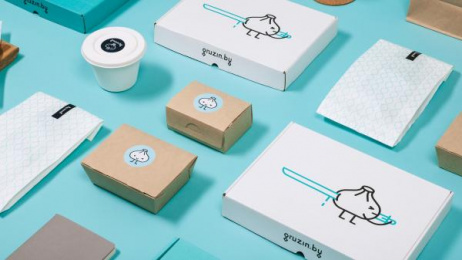 Gruzin.by: Gruzin.by identity, 13 Design & Branding by Pocket Rocket