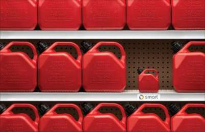 Smart: Fuel Efficient Print Ad by Nolin BBDO Montreal