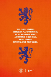 Nike: They Call Us Leeuwinnen, 6 Design & Branding by New Amsterdam Film Company, Wieden + Kennedy Amsterdam