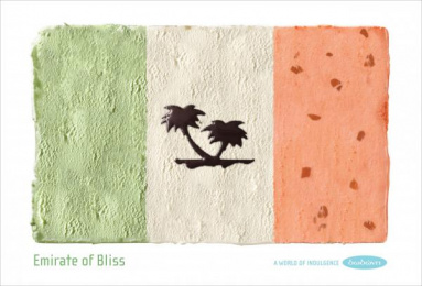 Dodoni Ice Cream: EMIRATE OF BLISS Print Ad by The Syndicate