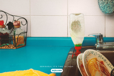 ALMACENES ÉXITO: Dish Soap Print Ad by Sancho BBDO Bogota