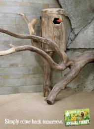 Zoologischer Garten Berlin: Zoo Berlin Third Outdoor Advert by Scholz & Friends Berlin