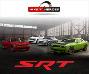 Chrysler: SRT Heroes Print Ad by Optimedia Middle East Dubai, Publicis Dubai