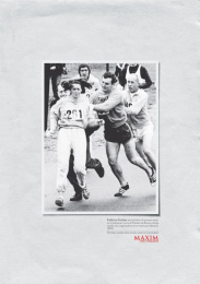 Maxim: MARATHONER [spanish] Print Ad by Ogilvy & Mather Mexico