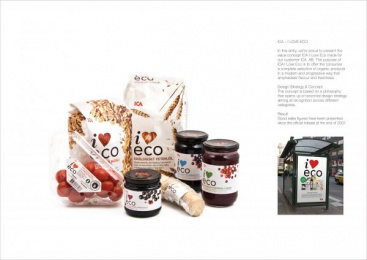 ICA: I LOVE ECO Print Ad by Identity Works