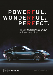 Mazda MX-5 RF: Powerful Wonderful Perfect [english] Print Ad by Antidote