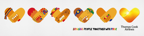 Thomas Cook Group Airlines: Bringing People Together With Pride, 1 Outdoor Advert by BJL Manchester
