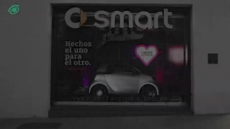 Smart: Camaleón [spanish] Ambient Advert by Contrapunto BBDO Madrid, Cubensis