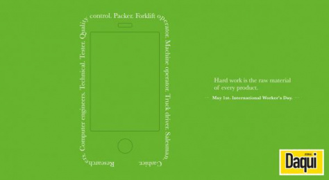 Daqui: Smartphone Print Ad by Inquieta