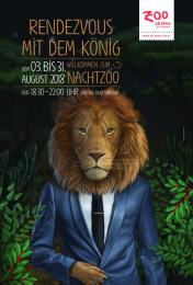 Salzburg Zoo: Lion Print Ad by dunkelblaufastschwarz Salzburg