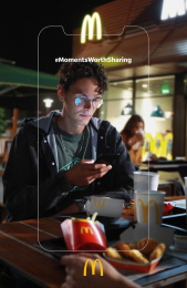 McDonald's: Moments Worth Sharing, 3 Print Ad by DDB Athens