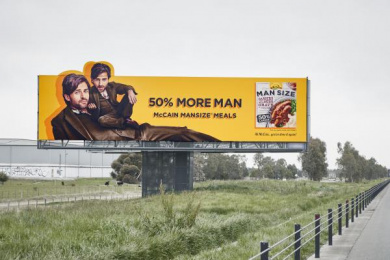 Mccain Foods: Billboard Outdoor Advert by Positive Ape, Tbwa Melbourne